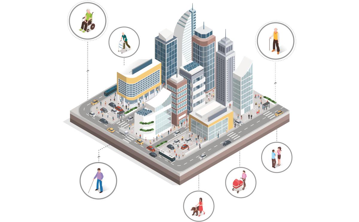 Barrier-free Smart City